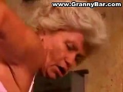 Nice blonde granny anal banging Nell from 1fuckdatecom