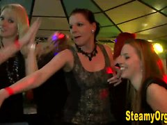 Real teens suck cock at party