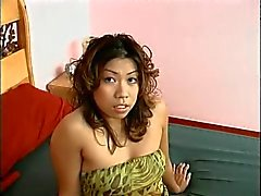 Sexy Asian amateur shows her tight pussy and nice ass for the camera then fucks