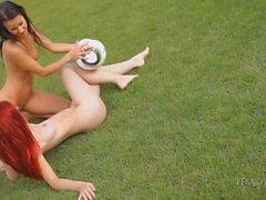 De melisa y a Ariel : bebés de fútbol