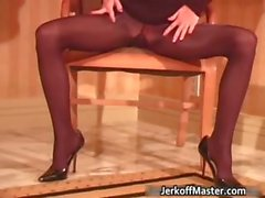 Cute and sexy ginger stripper shows her part3