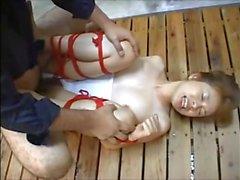 asian swimsuit bondage from AznBeauties .com