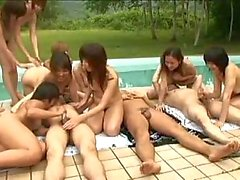 asian groupe handjob blowjob no sencured
