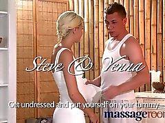 Massage Rooms - Tight teen blonde