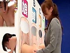 Субтитрами ENF японцы лесбиянок фаллоимитатором игрой в догадки