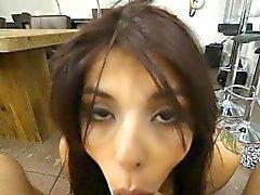 Lindo Amador Gina Valentina POV Blowjob