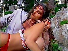 Big tits hottie spanked by Spankenstein