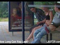 3way at the bus stop