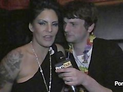 PornhubTV Daisy Rock Interview at SHAFTAs 2012
