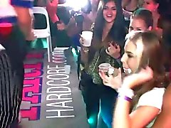 Party sluts fingered by strippers