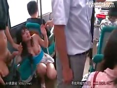 Bus geek molest innocent girl 05