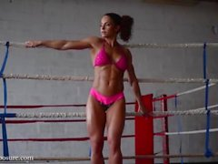Gabriella Bankuti Gym Photoshooting Video Part 6