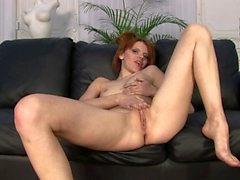 Pigtailed babe Marija willing to get fucked on both
