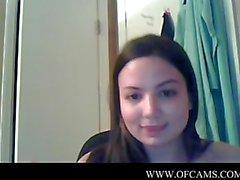 Hot Webcam Tease steal brunnette vejle