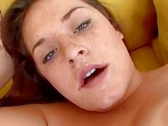 Hot Brunette Talia Palmer Screwed By A Huge Cock