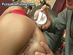 Horny slut ottiene la sua culo bocca aperta part5