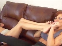 Britney Amber & Sasha foxxx Foot worship brattyfootgirls preview