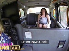Fêmeas de táxi Falso tesão tortas usar pepino para esticar
