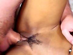Black beauty masturbating