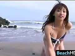 Cute Asian Teen In A Bikini