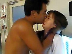 Japonaise AV Modèle infirmières fait bien baiser buccal et de de Cooter