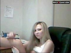 Blondes Webcam Girl