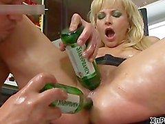 Thick blonde milf gets her big part6