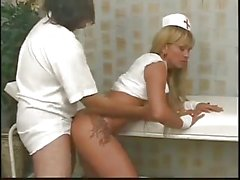 Yummy Tranny Nurse Gets Ass Splitted