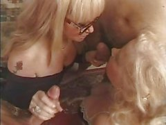 2 HAIRY French GRANNIES Get Fucked