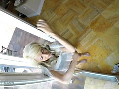 Slutty Step Sister Caught Sneaking In By Step Bro