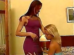 Shemale Fucks And Gets Fucked By Hot Blonde Girl