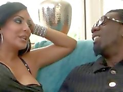 BBC på Beautiful Latina Milf