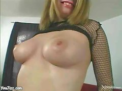 Blonde Whore Is Pounded Hard By A Big Fat Cock