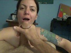 Floppy tits slut gets hog