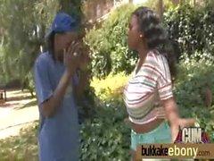 Bukkake ebony babe group fucking 18