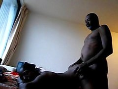 Delotta Brown Big Boobs Ebony Gorging On Monster Cock