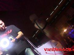 Nacho Vidal se folla a una espontanea en una orgia SEB 2015