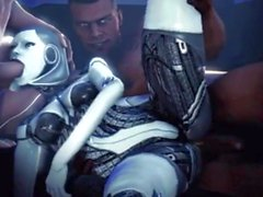 Mass Effect - EDI (Crazy Futa Mix)