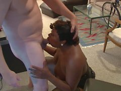 Anal Mature Ebony BBW Abuse