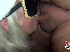 Hot pornstar bukkake und Gesicht