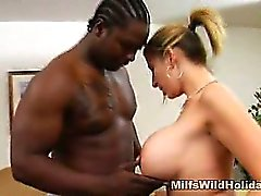 Sara Jay's Interracial Treat