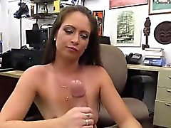 Vampire fangs blowjob Whips,Handcuffs and a face full of cum