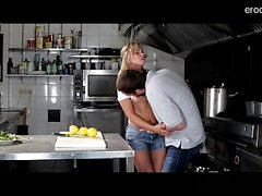 Horny housewife extreme throat