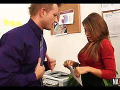 Fucking Secretary In Red High Heels Madison Ivy