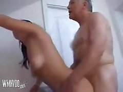 Old Man Love Doggy Style Sex