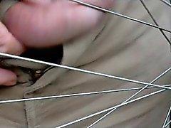 More foreskin torture in wheel 1 of 2
