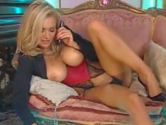 Blonde UK Milf Phone Show