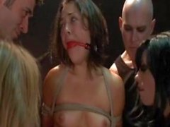 Kristina Rose seduced and fucked by vampires
