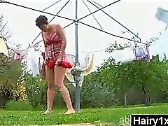 Pervers mauvais Seductive Poilues Chick de porno Hardcore