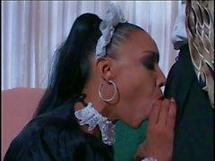 Hot black maid Soleil fucks Johnny Thrust